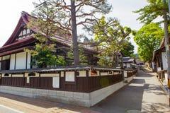 City area in Takayama, Gifu prefecture, Japan Stock Photo