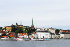 City of Arendal Norway Stock Images