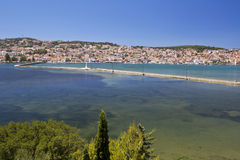 City of Argostoli at Kefalonia, Greece Stock Photos