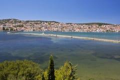 City of Argostoli at Kefalonia, Greece Stock Photos