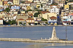 City of Argostoli at Kefalonia, Greece Royalty Free Stock Image