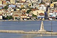 City of Argostoli at Kefalonia, Greece Royalty Free Stock Image