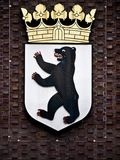 City arms Berlin. Germany - the Berlin Bear Royalty Free Stock Photography