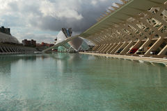 In City of art and science. Valencia, Spain Stock Photography