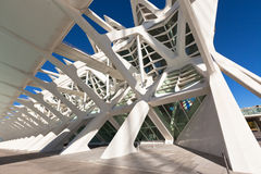 The city of arts, oceanographic and sciences, Valencia Royalty Free Stock Photography