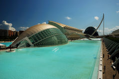 City of Arts and Science. Valencia Stock Image
