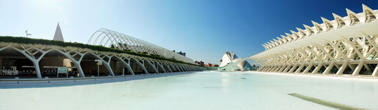 City of Arts and Science. Valencia Stock Photography
