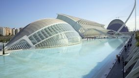 City of arts and science general view in Valencia, Spain