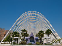 City of Arts and Science -L'Umbracle Stock Image