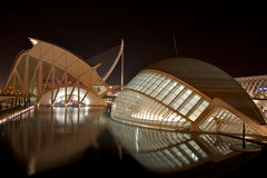 City of Arts and Science, Valencia Royalty Free Stock Photography