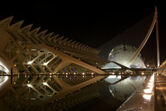 City of Arts and Science, Valencia Royalty Free Stock Image