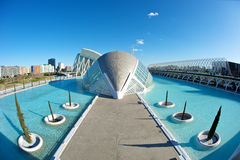 City of Arts and Science, Valencia Royalty Free Stock Photos