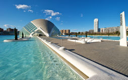 City of Arts and Science, Valencia Stock Photography