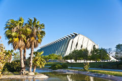 The city of Arts and Science in Valencia. Stock Image