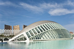 The city of Arts and Science in Valencia. Royalty Free Stock Photography