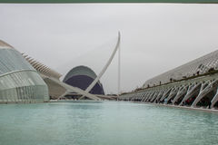 City of Arts and Science, Valencia, Spain Royalty Free Stock Photography