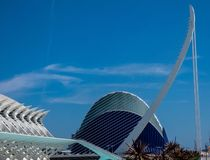 City of Arts and Science  in Valencia, Spain, Europe royalty free stock photos