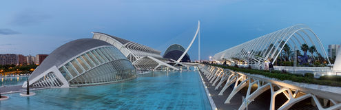 the City of Arts and Science in Valencia, Spain. Stock Photography