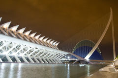 The City of Arts and Sciences Royalty Free Stock Photo