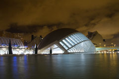 The City of Arts and Sciences Royalty Free Stock Image
