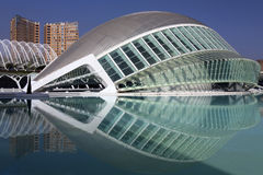 City of Arts & Sciences Royalty Free Stock Photo