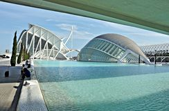 City of Arts and Sciences Royalty Free Stock Photography