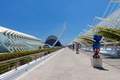 City of Arts and Sciences - Candy Exhibition Royalty Free Stock Photos