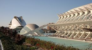 City of Arts and Sciences Stock Image