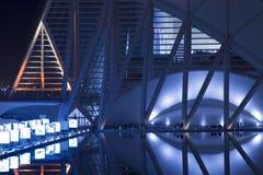 City of the Arts and Sciences, la Ciutat de les Arts i les Cièn Stock Photos