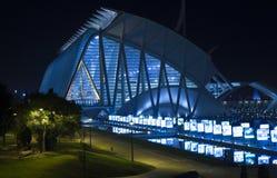 City of the Arts and Sciences, la Ciutat de les Arts i les Cièn Stock Photography