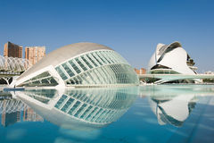 City of Arts and Sciences Royalty Free Stock Photos
