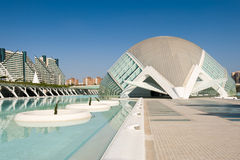 City of Arts and Sciences Stock Photography