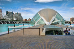 City of Arts and Sciences, Valencia Royalty Free Stock Photography