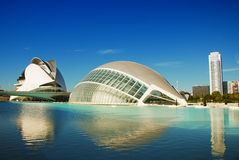 City of Arts and Sciences, Valencia Stock Photo