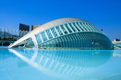 The City of Arts and Sciences of Valencia royalty free stock photo