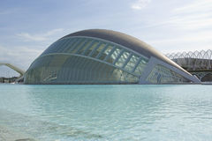 City of Arts and Sciences in Valencia Royalty Free Stock Photos