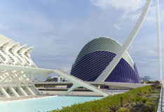 City of Arts and Sciences in Valencia Stock Image