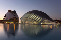 City of Arts and Sciences, Valencia Stock Image