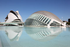 City of Arts and Sciences, Valencia Royalty Free Stock Images