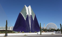 City of Arts and Sciences, Valencia Royalty Free Stock Photos