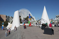 City of Arts and Sciences Valencia Stock Photography