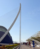 The City of Arts and Sciences Valencia Stock Image