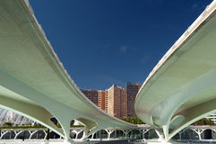 The City of Arts and Sciences Valencia Royalty Free Stock Images