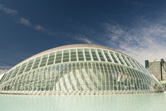 The City of Arts and Sciences Valencia. The Hemisferic at The City of Arts and Sciences, Valencia, Spain Stock Images