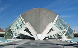 The City of Arts and Sciences Valencia. The Hemisferic at The City of Arts and Sciences, Valencia, Spain Stock Photos