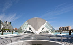 The City of Arts and Sciences Valencia. The Hemisferic at The City of Arts and Sciences, Valencia, Spain Stock Photography