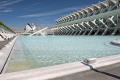 The City of Arts and Sciences Valencia. The City of Arts and Sciences, Valencia, Spain Stock Photos