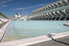 The City of Arts and Sciences Valencia Stock Photos
