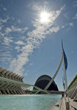 The City of Arts and Sciences Valencia. The City of Arts and Sciences, Valencia, Spain Stock Photography