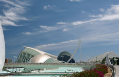 The City of Arts and Sciences Valencia. The City of Arts and Sciences, Valencia, Spain Royalty Free Stock Image